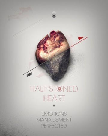 Alariwo Poetry: Half stoned HEART