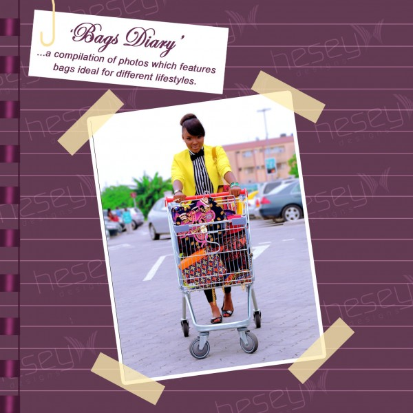Features: Hesey @ 1 / Look Book ( Bags Diary )