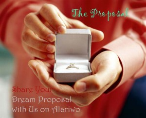 the perfect marriage proposal -