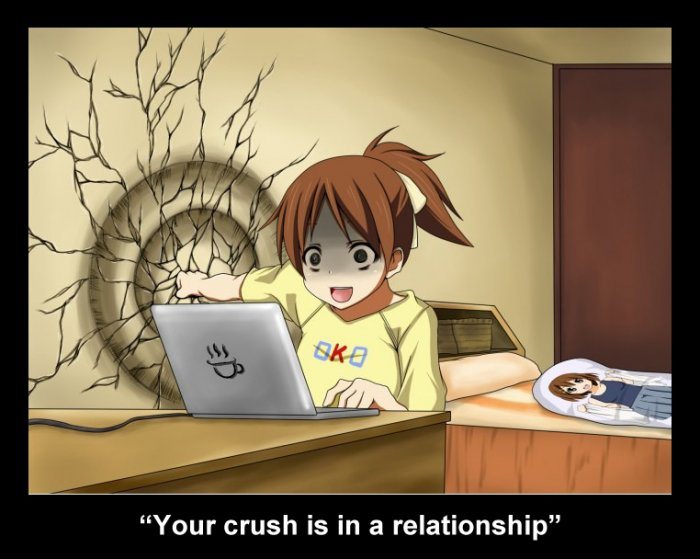 when the crush is in a relationship